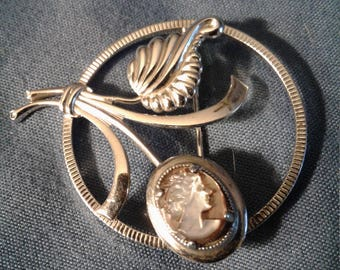 Amco Sterling silver brooche