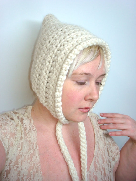 Crochet Pixie Hat Pattern Pdf Elf Hood