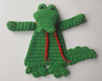 crochet crocodile,