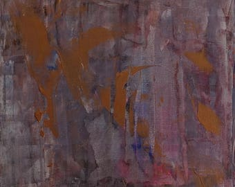 """Remains 12"""" x 12"""" abstract painting"""