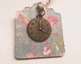 Antique Clock Bookmark