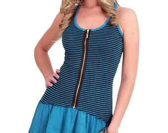 Zipper Tank Dress