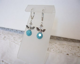 December Angel earrings