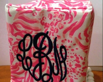 Lilly Pulitzer Tissue Box Cover