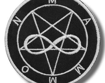 Sigil of Mammon - embroidered patch, 8x8 cm