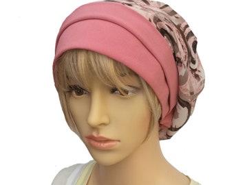 Women's slouchy hat, Slouch beanie summer, Women's beanie hat, Women's tam beanie, Summer slouchy beret, Women's headcovering, Slouch beanie