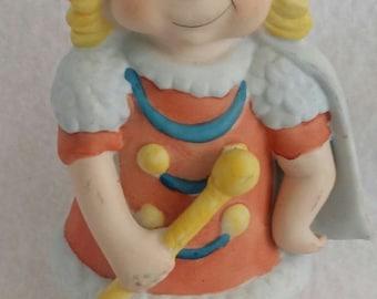 """5"""" Ceramic Drum Majorette Figurine"""