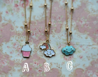 Cute necklaces for bjd doll 1/4