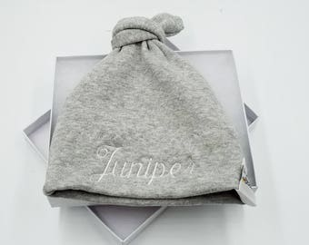 Personalized Baby Hat / Custom Baby Hat / Baby Shower Gift / Baby Hat / Baby Boy / Baby Girl / Newborn Hat / Baby Hat / Twins / Baby Cap