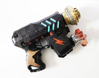 Stylized steampunk gun