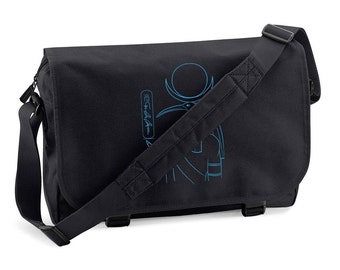 Messenger Bag Thot - personalized with your name in hieroglyphs