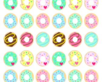 Mini Donuts | 139 | Planner Sticker | Kikki-K | Happy Planner | Erin Condren