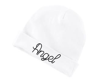 Angel Funny Cotton Beanie For Infants