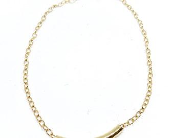 Tube Anklet  |  Ankle Bracelet