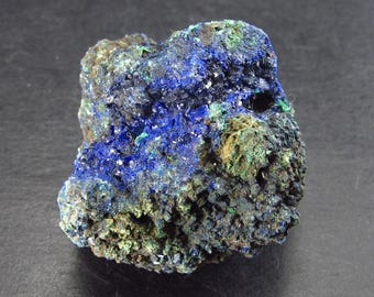 """Fine Azurite with Malachite From Mexico - 1.5"""""""