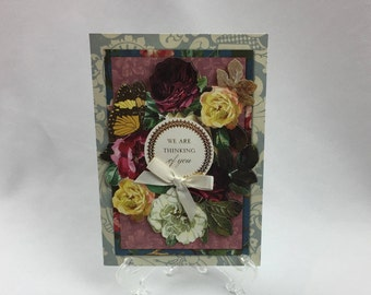 Anna Griffin, Handmade Card, Sending Warm Thoughts, Wife, Sister, Daughter, Friend, Mother