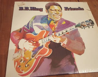 BB King Friends LP Record 1974 ABC Records ABCD825