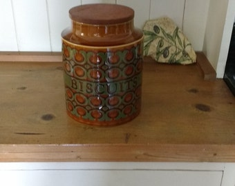 Vintage Hornsea Biscuit Jar