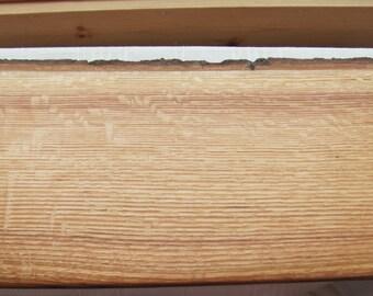 Natural edge Red Oak charcuterie board