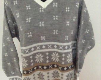 Ladies  Ski Snowflake Sweater (L)