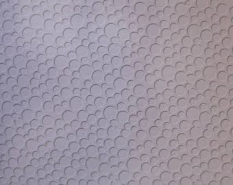 Bubbles Embossed Blank Note Cards, Embossed Blank Cards, Embossed Blank Greeting Cards Set of 10