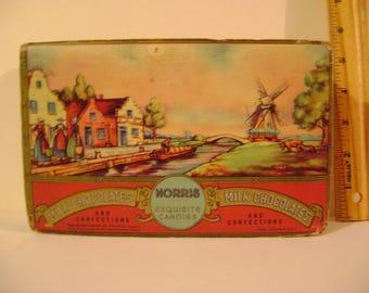 Vintage Norris Exquisite Candies Box