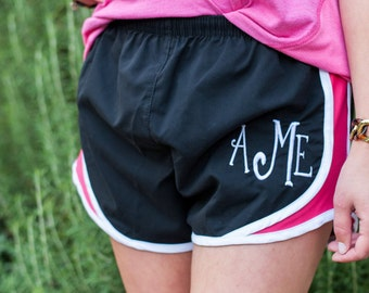 Monogrammed Shorts, Personalized Running Shorts, Work Out Short, Gym Shorts, Monogrammed Running Shorts, Personalized Shorts, Athletic Short