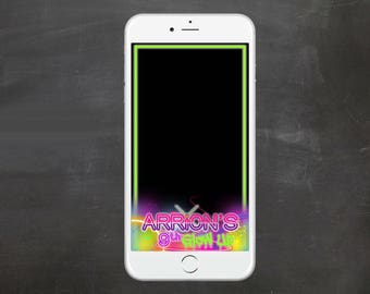 Glow in the Dark Party GeoFilter