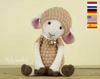Crochet Pattern - Sheep Mollie