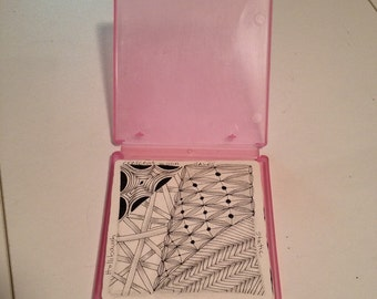 Zentangle Cases - Set of 25