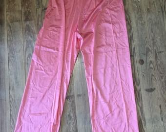 Vanity Fair Pink silky pants