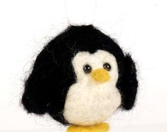 Penguin Bauble Needle Felting Kit