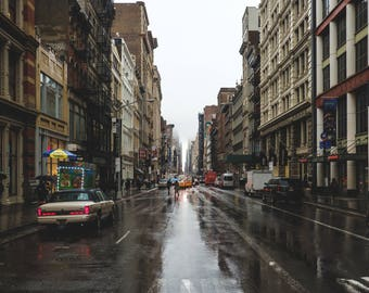 Raincheck: Soho Street I - Broadway [Digital Print]