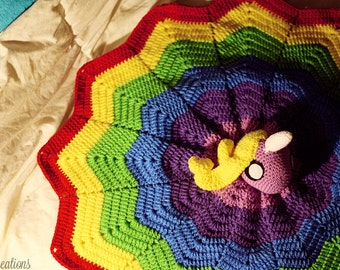 Lady Rainicorn Blanket