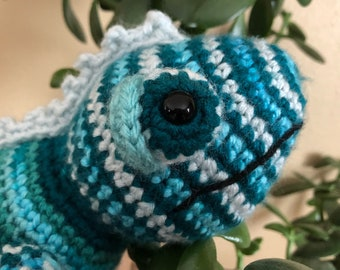 Chameleon stuffed animal