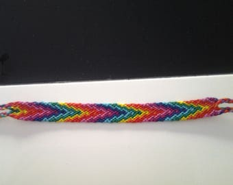 Arrow rainbow Friendship Bracelet