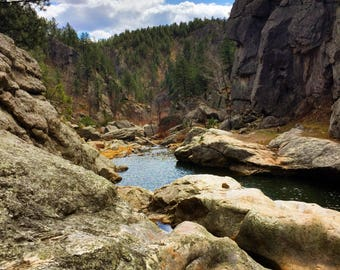 Hippie Hole in the Black Hills of South Dakota