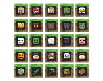Minecraft party Etsy