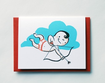 Baby Cupid Geeting Card