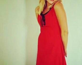 The little red dress Cécile Landmann unique