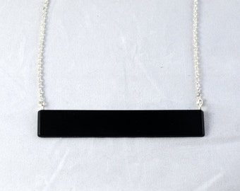 Engineer necklace - space bar necklace from laptop keyboard - programmer gift - software engineer necklace - gift for computer scientist