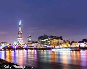 London Cityscape Photographic Fine Art Print