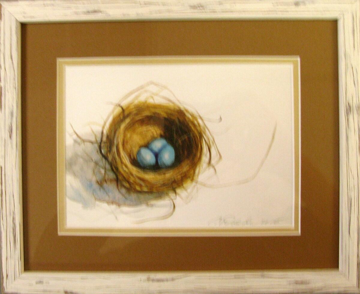 Costumbre de la orden enmarcado Robins Nest