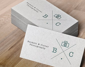 Photography Business Card Design - simple photography branding, photography logo, branding for photography business, small business branding