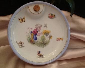 Limoges baby feeder bowl.
