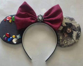 Pirates of the Caribbean Jack Sparrow treasure ears