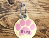 Cat name tag, pet name ta...