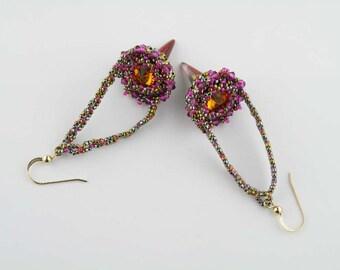 Beading Tutorial - Mina's Earrings