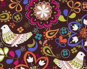 Birds of Norway - Michael Miller - 1 yard - More Available - BTY - Sale