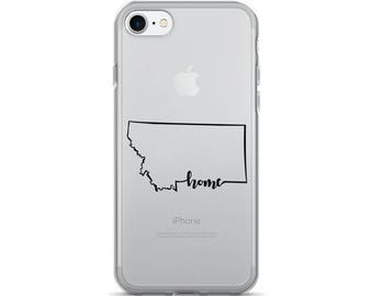 Montana Home State - iPhone Case (iPhone 7/7 Plus, iPhone 8/8 Plus, iPhone X)